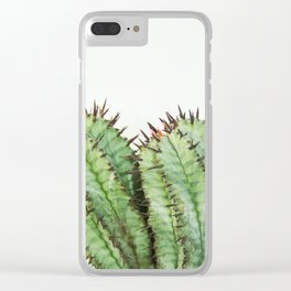 cactus II Clear iPhone Case
