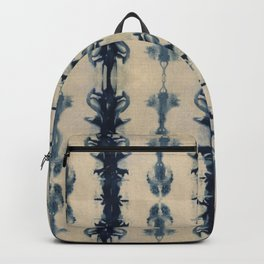 Shibori Flowers Backpack