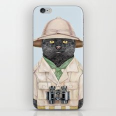 Safari Cat iPhone & iPod Skin