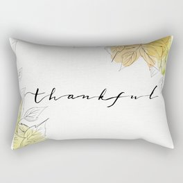 THANKFUL LEAFS Rectangular Pillow