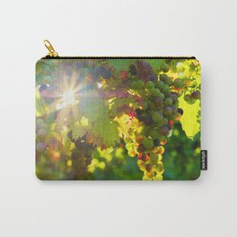 Wine Grapes in the Sun Carry-All Pouch
