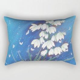 Yucca Painting #1 Rectangular Pillow