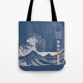 Hokusai - Big Wave of Kinagawa Tote Bag