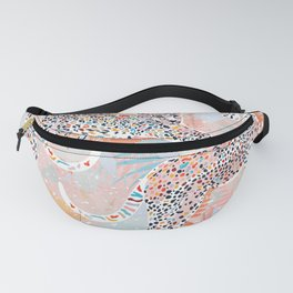 Colorful Wild Cats Fanny Pack