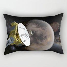 New Horizons - Pluto and Charon Rectangular Pillow