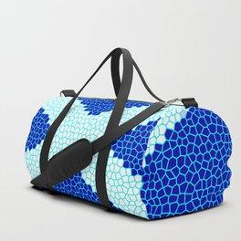 Mosaic Scottish Flag Duffle Bag
