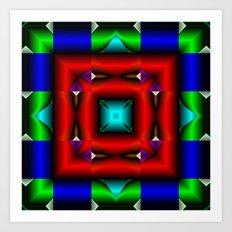 Mandala8 Art Print