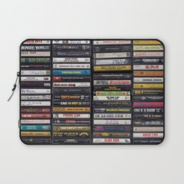 Old 80's & 90's Hip Hop Tapes Laptop Sleeve