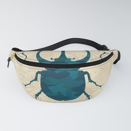 Original Camouflage Pattern Scarab Beetle Fanny Pack