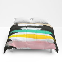 Untitled (Finger Paint 1) Comforters