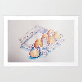 A Half Dozen Art Print