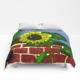 Thee Sunflower by Mgyver Comforters