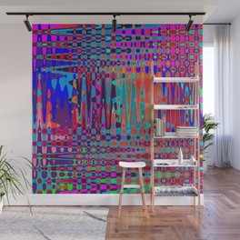 Psychedelic Tribal - Dark Wall Mural
