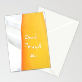 Don't Touch Me Stationery Cards