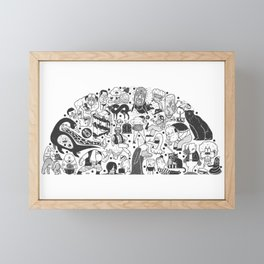 To el tintero entero - Underground comic characters Framed Mini Art Print