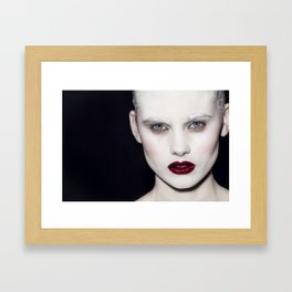 All about them eyes Framed Art Print