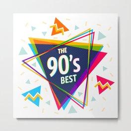 Fashion 90's style Metal Print