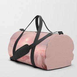 Pastel desert Duffle Bag