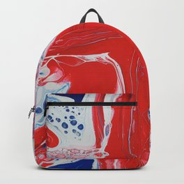 Abstract Union Jack Backpack