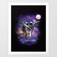 Dance with the Stars Art Print