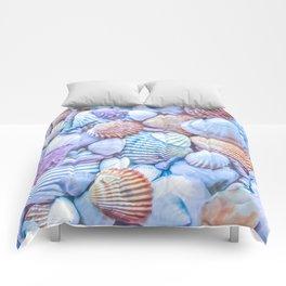 Seashells Everywhere Comforters