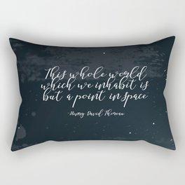 This Whole World Rectangular Pillow