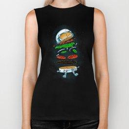 The Astronaut Burger Biker Tank