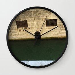 Doge's Palace Prison, Venice, Italy Wall Clock