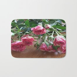 ROSES ARE LOVE Bath Mat