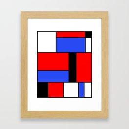 Mondrian #51 Framed Art Print