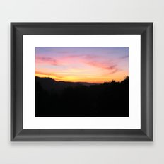 Last Moments Framed Art Print
