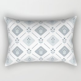 SCANDI grey-blue 01 Rectangular Pillow
