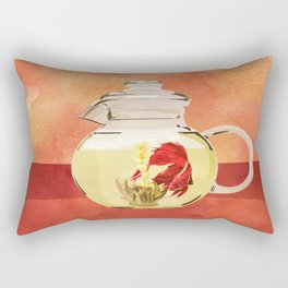 Beta Fish Tea by Kenzie McFeely Rectangular Pillow