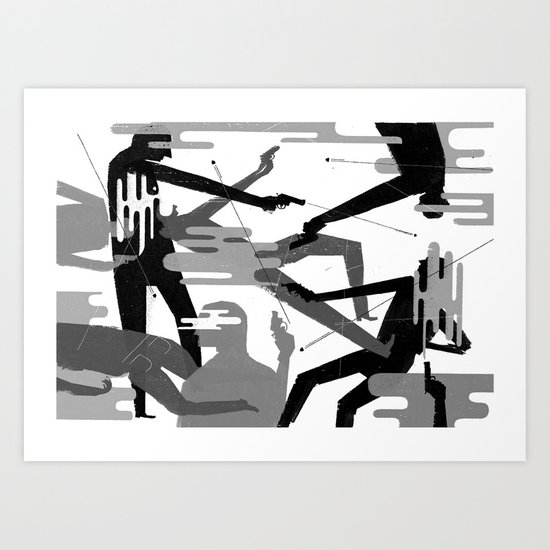 I Carried A Gun, And It Was Heavy Art Print