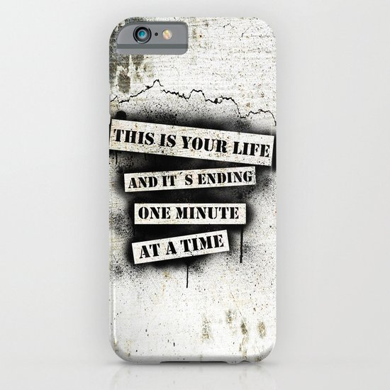 This is your life iPhone & iPod Case