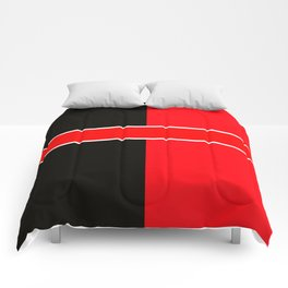Team Colors 6...red,black,white Comforters