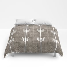 dirty arrows Comforters