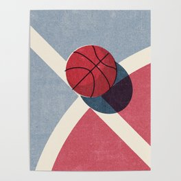 BALLS / Basketball (Outdoor) Poster