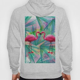 Flamingo Love Hoody