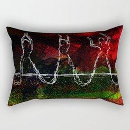 Belly Dancing symbolic art Rectangular Pillow