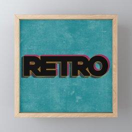 RETRO Framed Mini Art Print