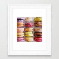 French Macarons  Framed Art Print