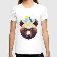 mountain T-shirts featuring Bear Mountain  by Davies Babies