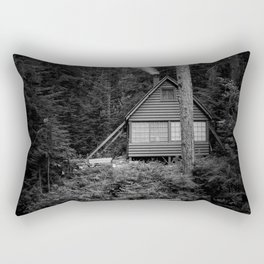 Cabin Smoke Rectangular Pillow