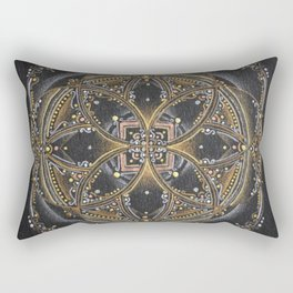 Seed of the Flower of Life Rectangular Pillow