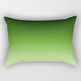 Green. Ombre . Rectangular Pillow