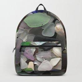 Sea Glass Assortment 1 Backpack