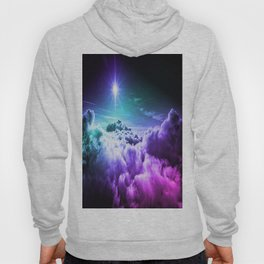 Cool Tone Ombre Clouds Hoody
