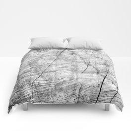 Cracks in timber Textures 3 Comforters