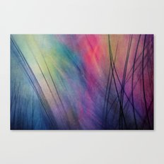 Tropical Feather Abstract Canvas Print